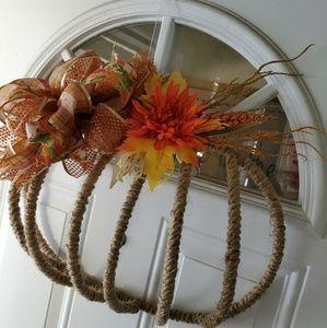 Holiday - Pumpkin wreath